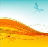 Fondo abstracto del verano para su diseño ilustración del vector