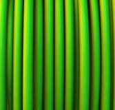 Fondo abstracto del verde 3d Fotografía de archivo