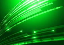 Fondo abstracto del verde de la tecnología Foto de archivo