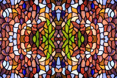 Fondo abstracto del vidrio del color Foto de archivo