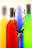Fondo abstracto del vino Imagen de archivo libre de regalías