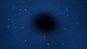 Fondo abstracto del Wormhole - concepto de la gravedad Fotos de archivo