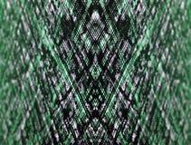 Fondo abstracto digital óptico verde Imagen de archivo