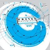 Fondo abstracto, ejemplo cepillado del vector Imagen de archivo