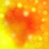 Fondo abstracto elegante del oro con el bokeh Fotografía de archivo libre de regalías