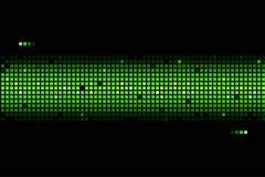 Fondo abstracto en colores verdes Imagen de archivo libre de regalías