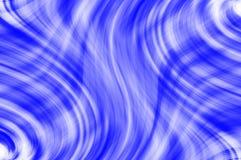 Fondo abstracto en el color azul ondulado Foto de archivo libre de regalías