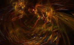 Fondo abstracto en fractal bajo Foto de archivo