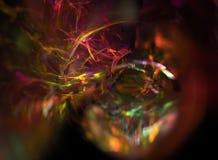 Fondo abstracto en fractal bajo Imagenes de archivo