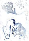 Fondo abstracto en las técnicas de la acuarela y del ebru turco Imagen de archivo libre de regalías