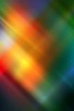Fondo abstracto en rojo, verde, anaranjado, amarillo y azul stock de ilustración