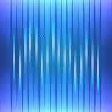 Fondo abstracto, equalizador azul Imagen de archivo