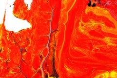 Fondo abstracto, espina en rojo Foto de archivo
