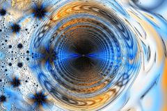 Fondo abstracto espiral Foto de archivo libre de regalías