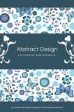 Fondo abstracto floral 1-5 Imágenes de archivo libres de regalías