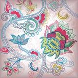Fondo abstracto floral Imagen de archivo libre de regalías