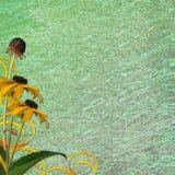 Fondo abstracto floral Imagenes de archivo