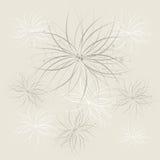 Fondo abstracto floral Fotografía de archivo