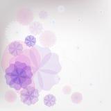 Fondo abstracto floral Imagen de archivo