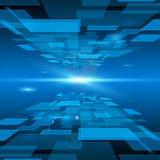 Fondo abstracto futurista del espacio Imagen de archivo
