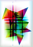 Fondo abstracto geométrico Fotos de archivo