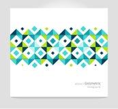 Fondo abstracto geométrico Foto de archivo libre de regalías