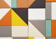 Fondo abstracto geométrico Imágenes de archivo libres de regalías