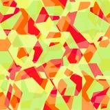 Fondo abstracto geométrico brillante del vector Foto de archivo libre de regalías