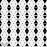 Fondo abstracto geométrico con la línea y Dots Patterns conectados Fotos de archivo libres de regalías
