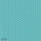 Fondo abstracto geométrico con la línea y Dots Patterns conectados Imágenes de archivo libres de regalías