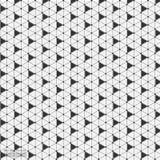 Fondo abstracto geométrico con la línea y Dots Patterns conectados Imagen de archivo libre de regalías