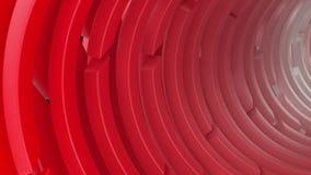 fondo abstracto geométrico 3d almacen de metraje de vídeo