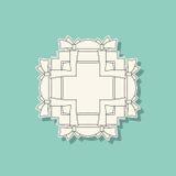 Fondo abstracto geométrico del vector stock de ilustración