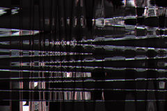 Fondo abstracto gris de la interferencia de la textura Fotos de archivo libres de regalías
