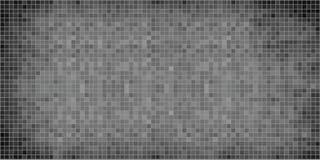 Fondo abstracto gris del mosaico foto de archivo