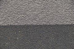 Fondo abstracto gris interesante con un modelo fino fotografía de archivo