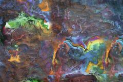 Fondo abstracto hecho de la arcilla del juego Foto de archivo libre de regalías