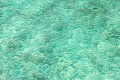 Fondo abstracto hecho del agua cristalina Imagen de archivo libre de regalías