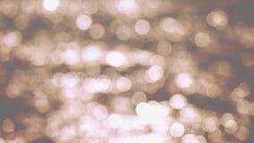 Fondo abstracto hermoso de la Navidad del bokeh de las luces que brilla almacen de video