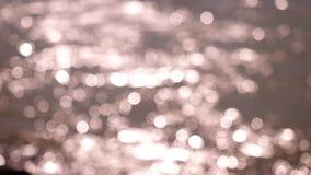 Fondo abstracto hermoso del bokeh de las luces que brilla almacen de video