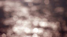 Fondo abstracto hermoso del bokeh de las luces que brilla 4k, 3840x2160 almacen de metraje de vídeo