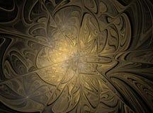 Fondo abstracto hermoso del fractal Imagenes de archivo