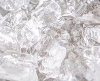 Fondo abstracto II de los cubos de hielo Imagenes de archivo