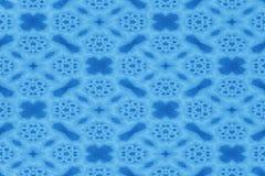 Fondo abstracto inconsútil del modelo del color azul del arte Fotos de archivo libres de regalías