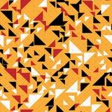 Fondo abstracto inconsútil del triángulo de la moda Imagen de archivo