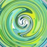 Fondo abstracto, líneas que remolinan, vector colorido ilustración del vector