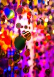 Fondo abstracto ligero Fotografía de archivo libre de regalías