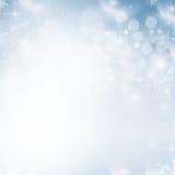 Fondo abstracto ligero de la Navidad Foto de archivo libre de regalías