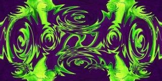 Fondo abstracto limpio y sólido brillante colorido con un p ondulado ilustración del vector