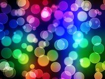 Fondo abstracto - luces borrosas Imagen de archivo
